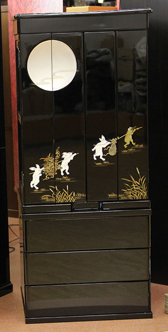 【家具調仏壇-KG023】23号 月 2型