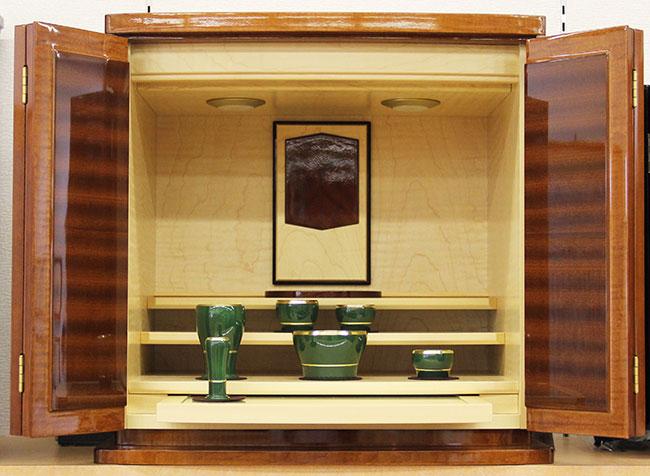 【家具調仏壇-KG016】カレントオータムレッド